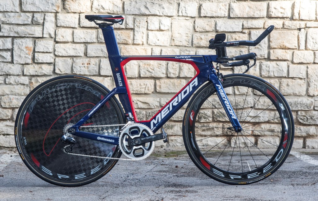 Bahrain Merida Pro Cycling Team Bikes